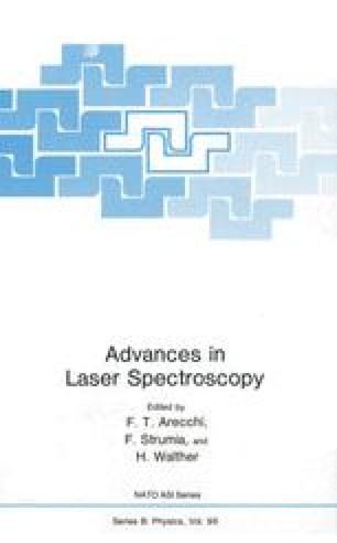 Advances in Laser Spectroscopy