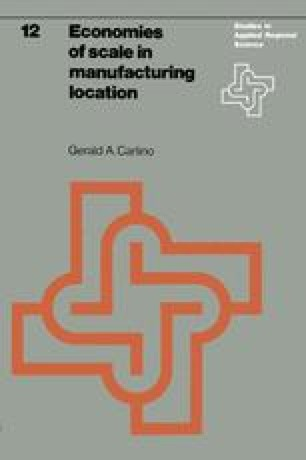 Economies of scale in manufacturing location