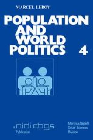 Population and world politics