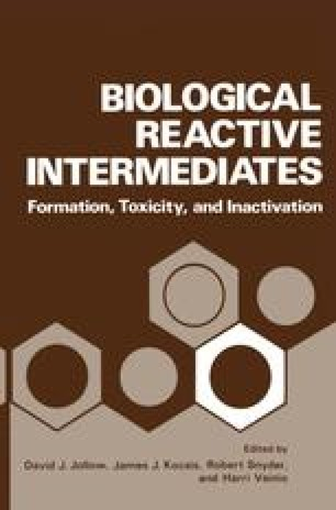 Biological Reactive Intermediates