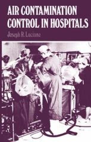 Air Contamination Control in Hospitals | SpringerLink