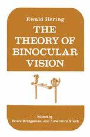 The Theory of Binocular Vision