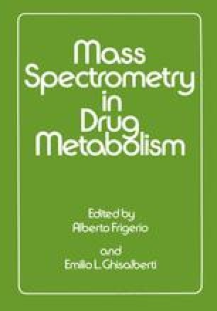Mass Spectrometry in Drug Metabolism