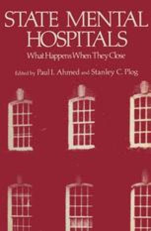 State Mental Hospitals
