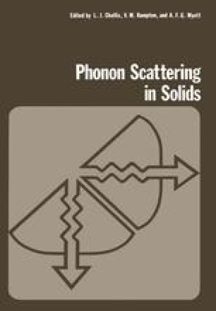 Phonon Scattering in Solids
