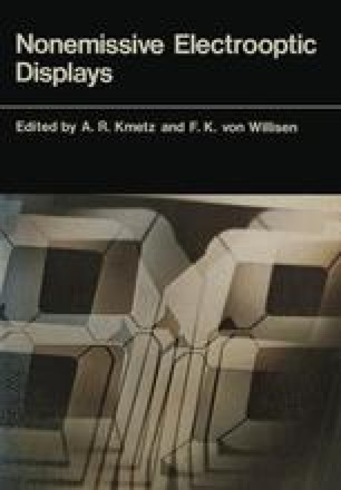 Nonemissive Electrooptic Displays