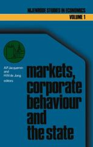 Markets, corporate behaviour and the state