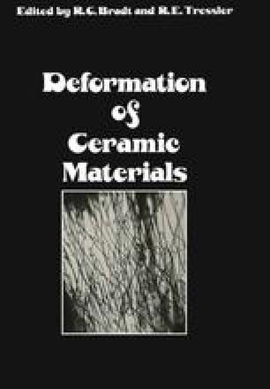 Deformation of Ceramic Materials