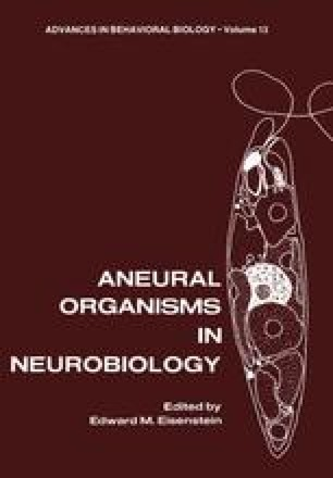 Aneural Organisms in Neurobiology