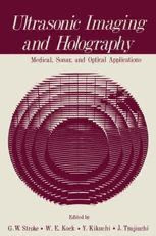 Ultrasonic Imaging and Holography