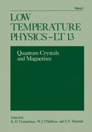 Low Temperature Physics-LT 13