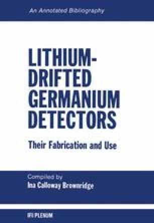 Lithium-Drifted Germanium Detectors: Their Fabrication and Use