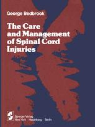The Care and Management of Spinal Cord Injuries