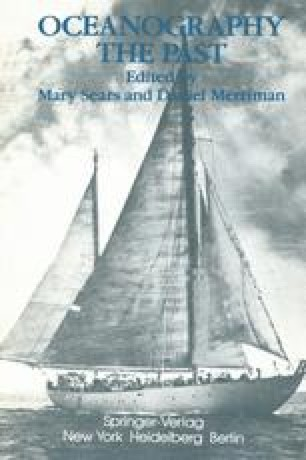 Oceanography: The Past