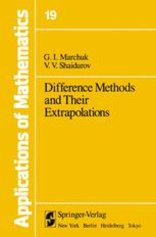 Difference Methods and Their Extrapolations