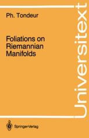 Foliations on Riemannian Manifolds