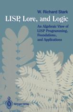 LISP, Lore, and Logic