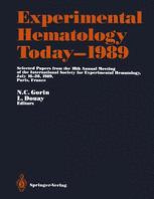 Experimental Hematology Today—1989