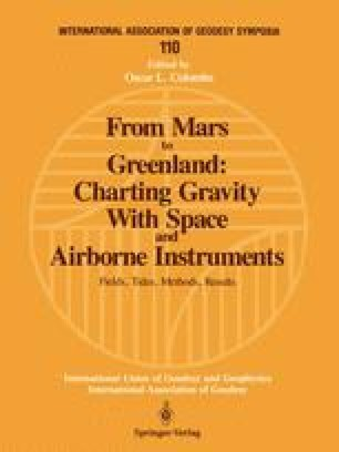 From Mars to Greenland: Charting Gravity With Space and Airborne Instruments