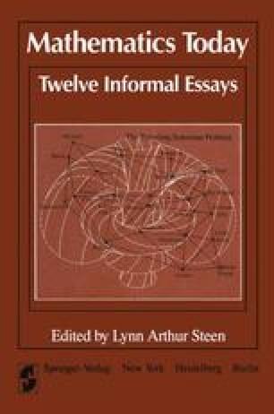 Mathematics Today Twelve Informal Essays