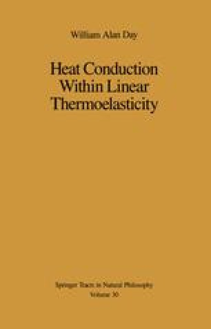 Heat Conduction Within Linear Thermoelasticity