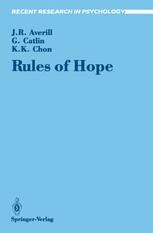 Study 1 The Anatomy Of Hope Springerlink