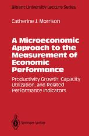 A Microeconomic Approach to the Measurement of Economic Performance