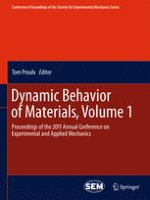 Dynamic Behavior of Materials, Volume 1