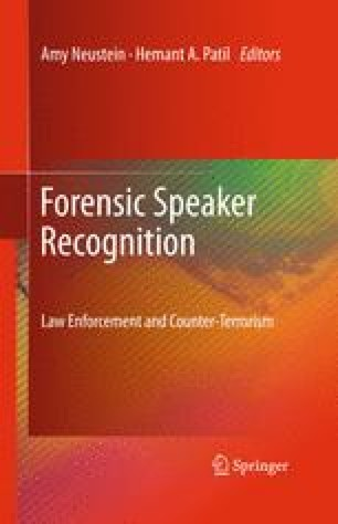 Speaker Profiling The Study Of Acoustic Characteristics Based On Phonetic Features Of Hindi Dialects For Forensic Speaker Identification Springerlink