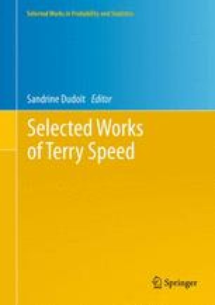 Selected Works of Terry Speed