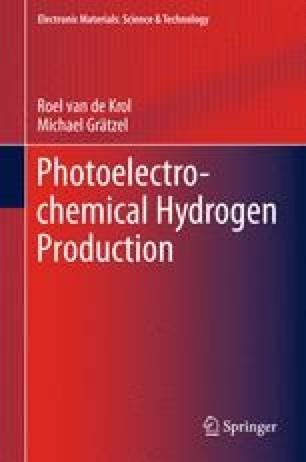 Photoelectrochemical Hydrogen Production