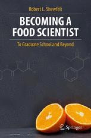 Becoming a Food Scientist
