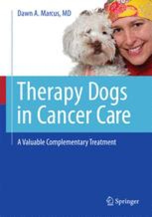Therapy Dogs in Cancer Care