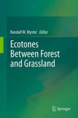 Ecotones Between Forest and Grassland