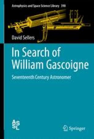 In Search of William Gascoigne