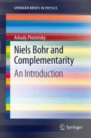 Niels Bohr and Complementarity