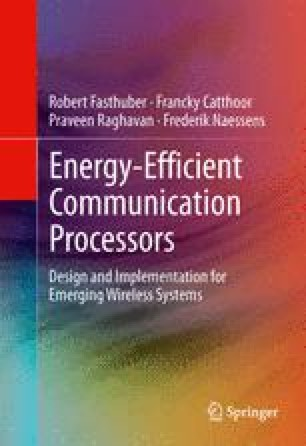 Energy-Efficient Communication Processors
