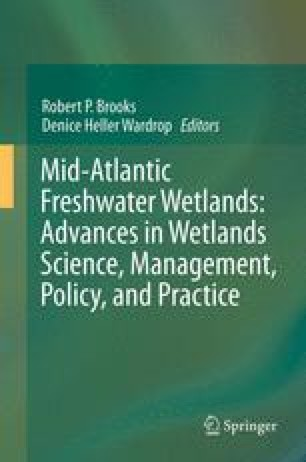 Mid-Atlantic Freshwater Wetlands: Advances in Wetlands Science, Management, Policy, and Practice