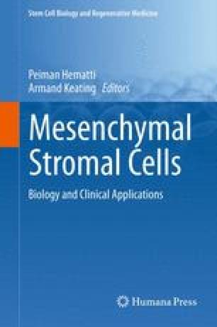 Mesenchymal Stromal Cells