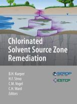 Chlorinated Solvent Source Zone Remediation