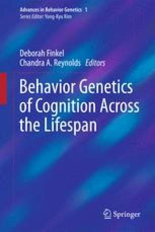 Normative Cognitive Aging | SpringerLink