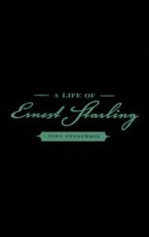 A Life of Ernest Starling