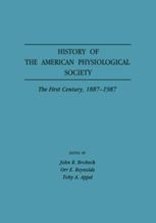 History of the American Physiological Society