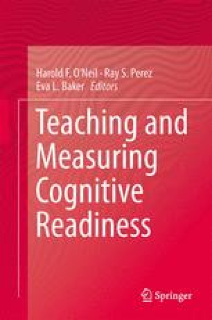 Teaching and Measuring Cognitive Readiness