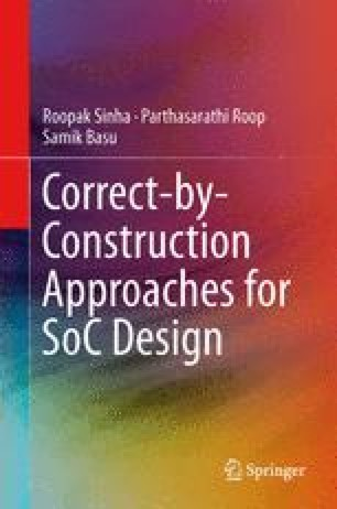 Correct-by-Construction Approaches for SoC Design