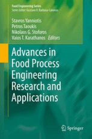 Advances in Food Process Engineering Research and Applications