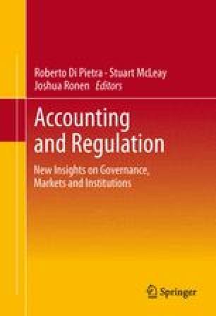 Accounting and Regulation