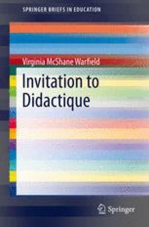 Invitation to Didactique