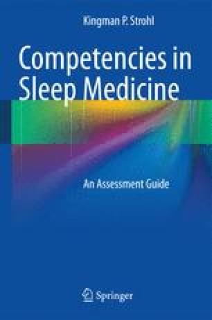 Competencies in Sleep Medicine