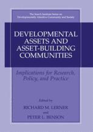 Developmental Assets and Asset-Building Communities